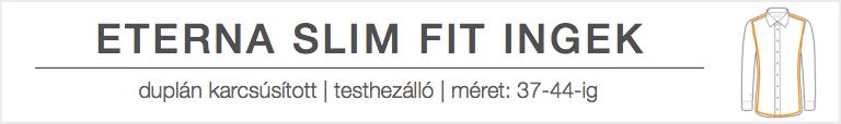 SLIM fit szabás