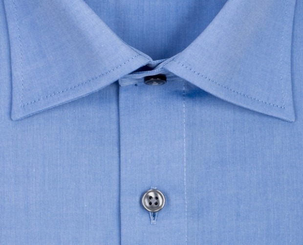 OLYMP vasalásmentes férfi ing kék - gallér