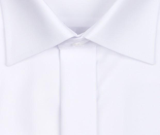 OLYMP vasalásmentes férfi ing karcsúsított fehér gála - gallér