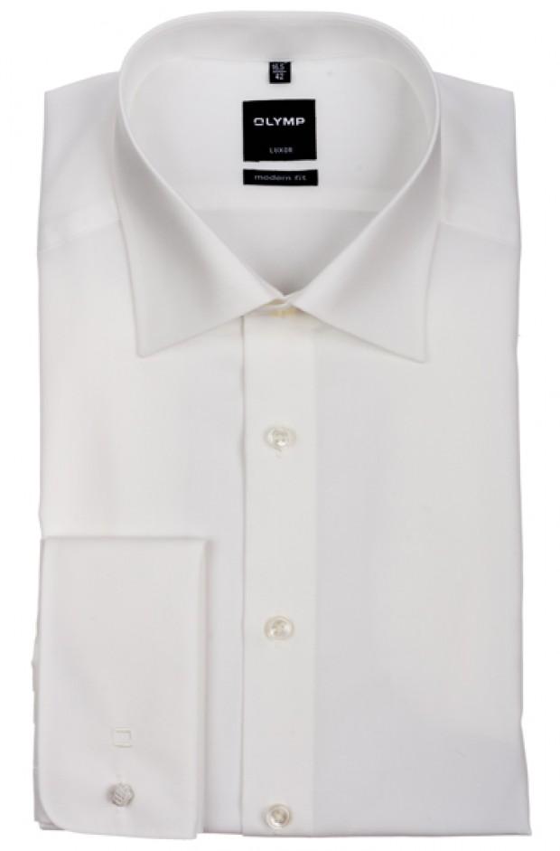 OLYMP vasalásmentes férfi ing karcsúsított bézs