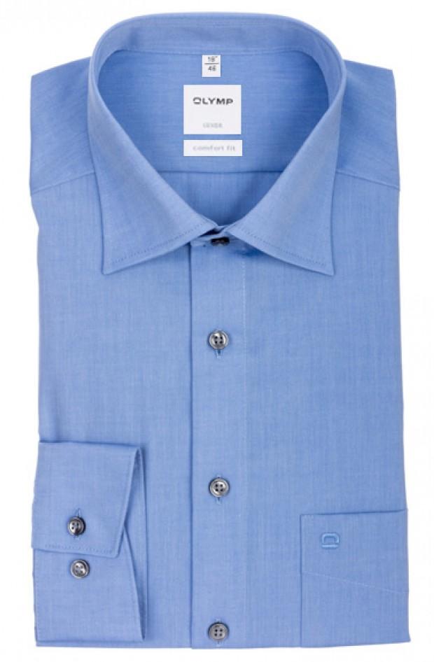 OLYMP vasalásmentes férfi ing kék