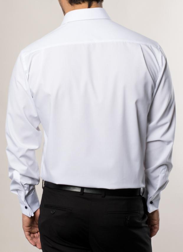 eterna vasalásmentes férfi ing fehér - hát