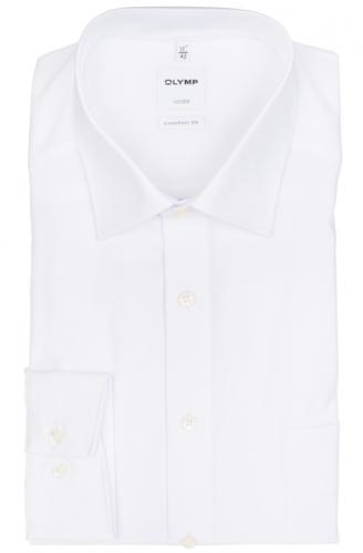 OLYMP vasalásmentes férfi ing fehér rövidített ujjú