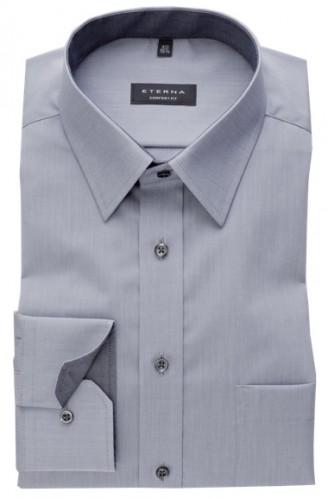 eterna vasalásmentes férfi ing szürke