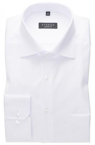 eterna vasalásmentes férfi ing fehér cover shirt