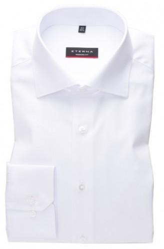 eterna vasalásmentes karcsúsított férfi ing fehér (cover shirt)