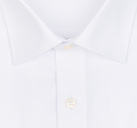 OLYMP vasalásmentes férfi ing fehér hosszított ujjú- gallér