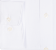 OLYMP vasalásmentes férfi ing fehér hosszított ujjú - mandzsetta