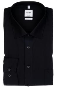 OLYMP vasalásmentes férfi ing fekete