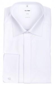 OLYMP vasalásmentes férfi ing fehér gála