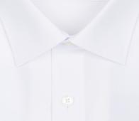OLYMP vasalásmentes férfi ing fehér rövid ujjú - gallér