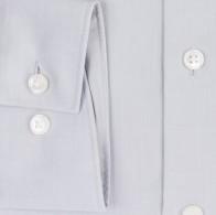 OLYMP vasalásmentes férfi ing karcsúsított világos szürke - mandzsetta