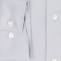 OLYMP vasalásmentes férfi ing világos szürke - mandzsetta