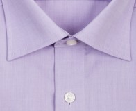 OLYMP vasalásmentes férfi ing karcsúsított lila - gallér
