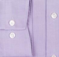 OLYMP vasalásmentes férfi ing karcsúsított lila - mandzsetta