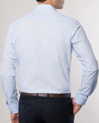 eterna vasalásmentes karcsúsított férfi ing világoskék - modell hát