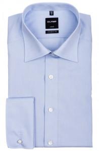 OLYMP vasalásmentes férfi ing karcsúsított világoskék