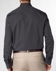 eterna vasalásmentes férfi ing sötétszürke (legombolt gallér) - modell hát