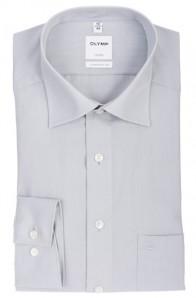 OLYMP vasalásmentes férfi ing világos szürke