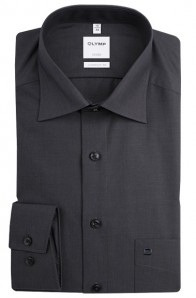 OLYMP vasalásmentes férfi ing sötétszürke