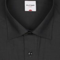 OLYMP vasalásmentes férfi ing sötétszürke - gallér