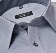 eterna vasalásmentes férfi ing szürke - gallér