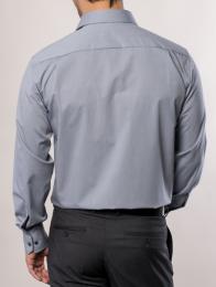 eterna vasalásmentes férfi ing szürke - modell hát