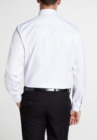 eterna vasalásmentes férfi ing fehér rövidített ujjú - hát