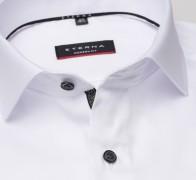eterna vasalásmentes karcsúsított férfi ing fehér (cover shirt) - gallér