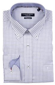 Casa Moda premium kék kockás ing
