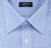 eterna kék apró kockás ing
