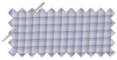 Olymp kék kockás ing
