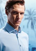 OLYMP kék mintás ing