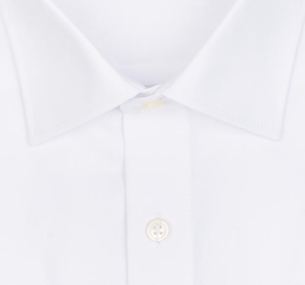 OLYMP vasalásmentes férfi ing fehér rövidített ujjú- gallér