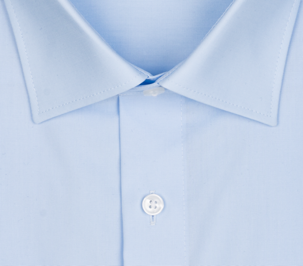 OLYMP vasalásmentes férfi ing világoskék hosszított ujjú - gallér