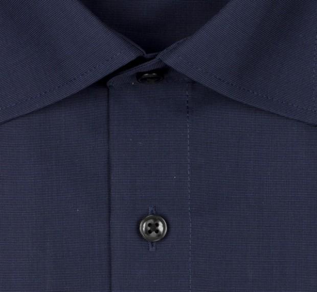 OLYMP vasalásmentes férfi ing karcsúsított sötétkék - gallér