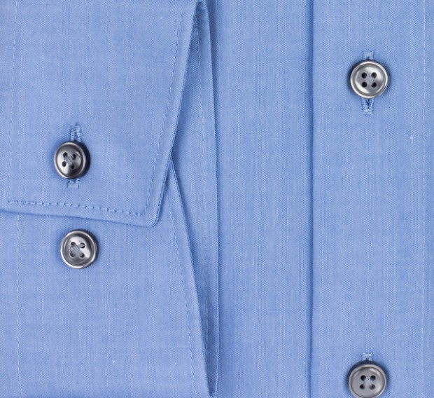 OLYMP vasalásmentes férfi ing kék - mandzsetta
