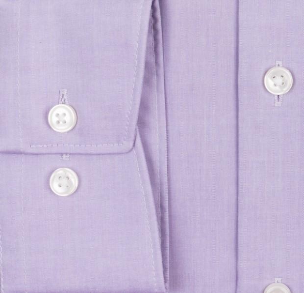 OLYMP vasalásmentes férfi ing lila - mandzsetta
