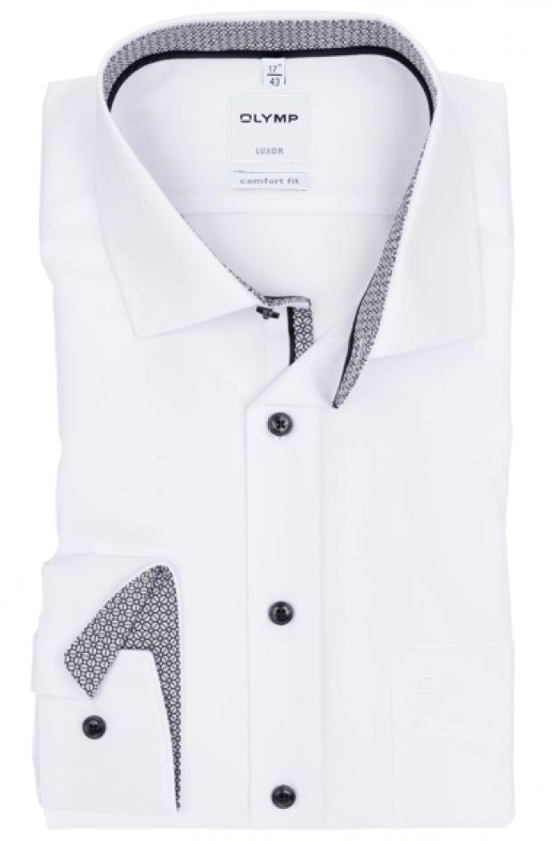 OLYMP vasalásmentes férfi ing fehér