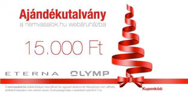 Ajándékutalvány 15000
