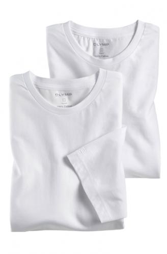 OLYMP férfi póló fehér kerek nyakú