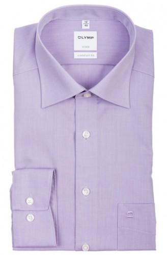 OLYMP vasalásmentes férfi ing lila