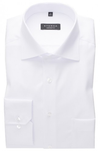 eterna vasalásmentes férfi ing fehér rövidített ujjú