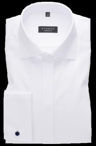 eterna vasalásmentes férfi ing fehér gála