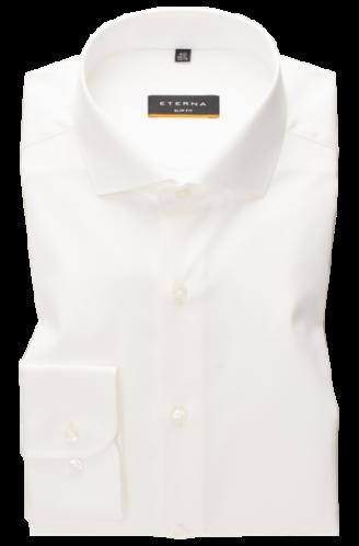 eterna vasalásmentes duplán karcsúsított férfi ing bézs (cover shirt)