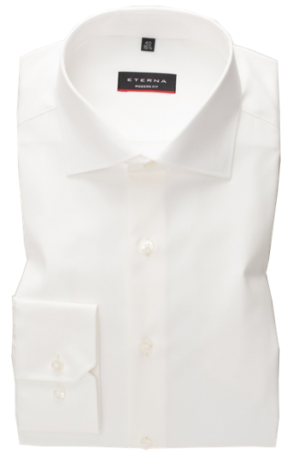 eterna vasalásmentes karcsúsított férfi ing bézs (cover shirt)