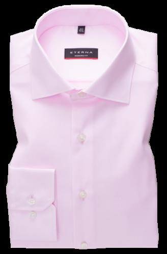 eterna vasalásmentes karcsúsított férfi ing rózsaszín (cover shirt)