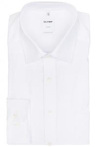 OLYMP vasalásmentes férfi ing fehér hosszított ujjú