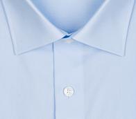 OLYMP vasalásmentes férfi ing világoskék rövidített ujjú - gallér