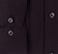 OLYMP vasalásmentes férfi ing karcsúsított fekete - mandzsetta